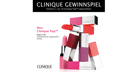 10 Tester für Clinique Pop Lip Colour Primer