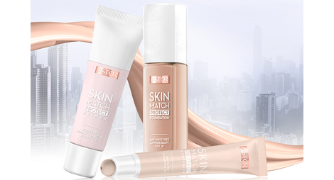 500 Tester für Skin Match Protect Make Up von Astor