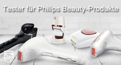 200 Tester für Philips Beauty-Produkte