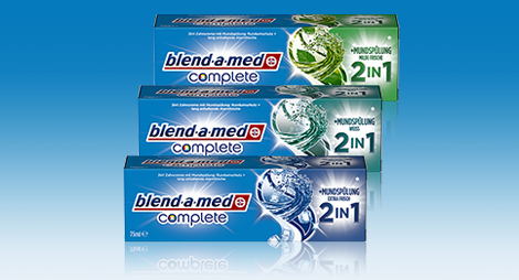 Oral-B blend-a-med Complete 2in1 Produkttest!