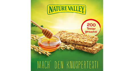 Nature Valley Crunchy Riegel test