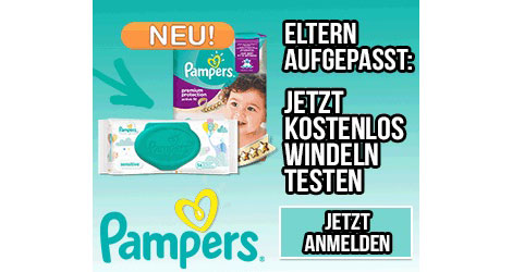 Pampers Produkttest