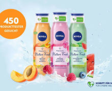 Produkttester NIVEA Shower Nature Fresh Pflegeduschen