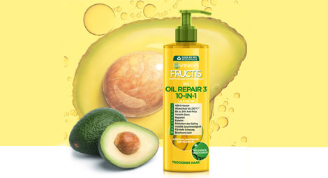 Produkttester Garnier Oil Repair